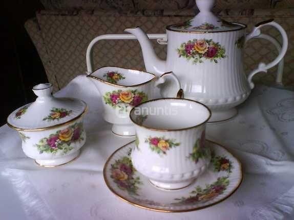 Juego de t porcelana inglesa porcelana pinterest for Vajilla de porcelana inglesa