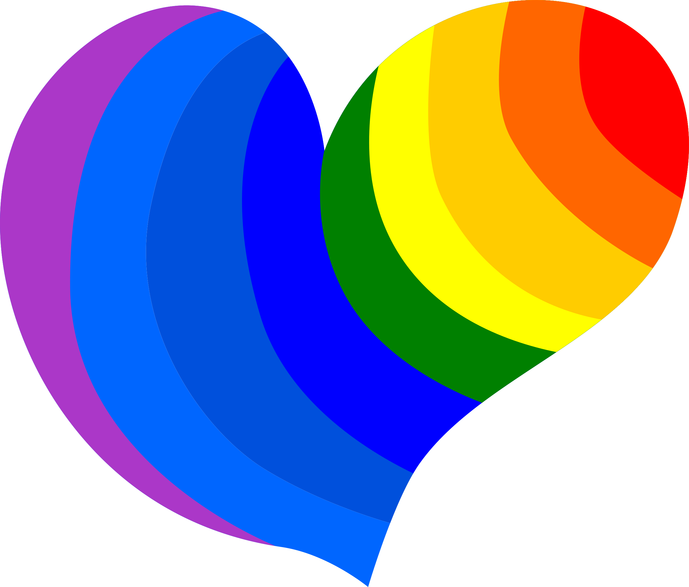 Free animated gay pride clip art