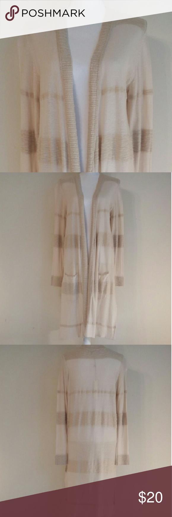 Lauren Conrad long light tan sweater. NWT NWT | Sweater cardigan ...