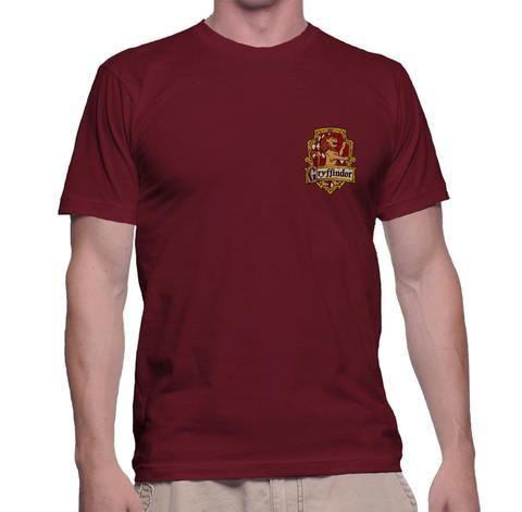 Gryffindor2 Pocket T Color Crest Men Tee Pa Shirt srChtQd