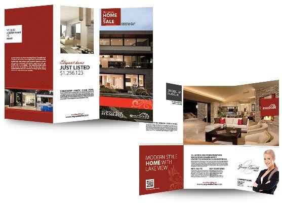 Real Estate Brochures RSD-BR-101 Real Estate Brochures Pinterest
