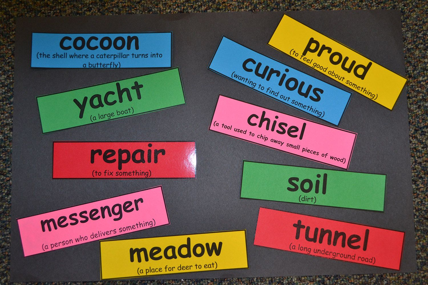 Vocabulary Use It To Teach New Words And Their Meaning