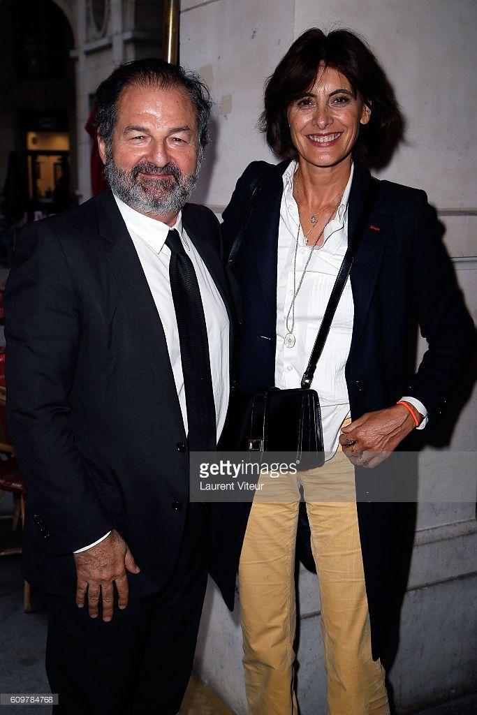 News Photo   Denis Olivennes and Ines de la Fressange attend ... 8d7ecdfc942c