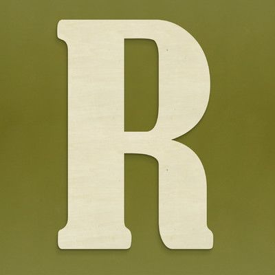 Found it at Wayfair - Large Wood Letter Hanging Initials   Wall ...