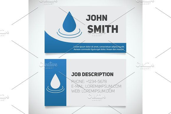 Business card print template with aroma oil drop logo print business card print template with aroma oil drop logo wajeb Gallery