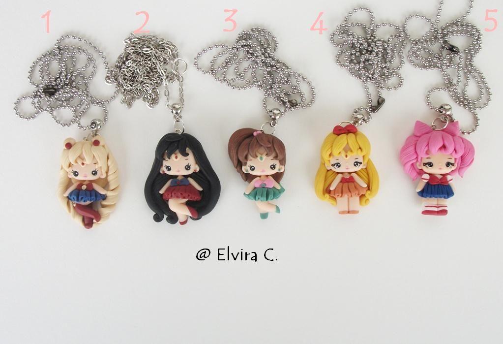 Sailor necklaces by elvira-creations.deviantart.com on @deviantART