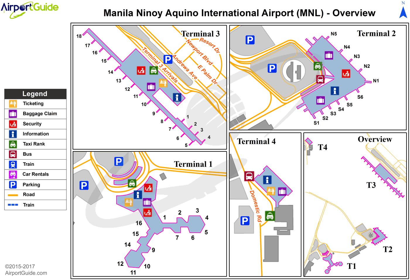 ninoy aquino international airport terminal 1 map Manila Ninoy Aquino International Mnl Airport Terminal Map ninoy aquino international airport terminal 1 map