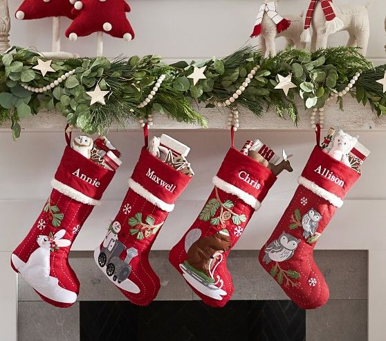 Woodland Stocking Collection In 2020 With Images