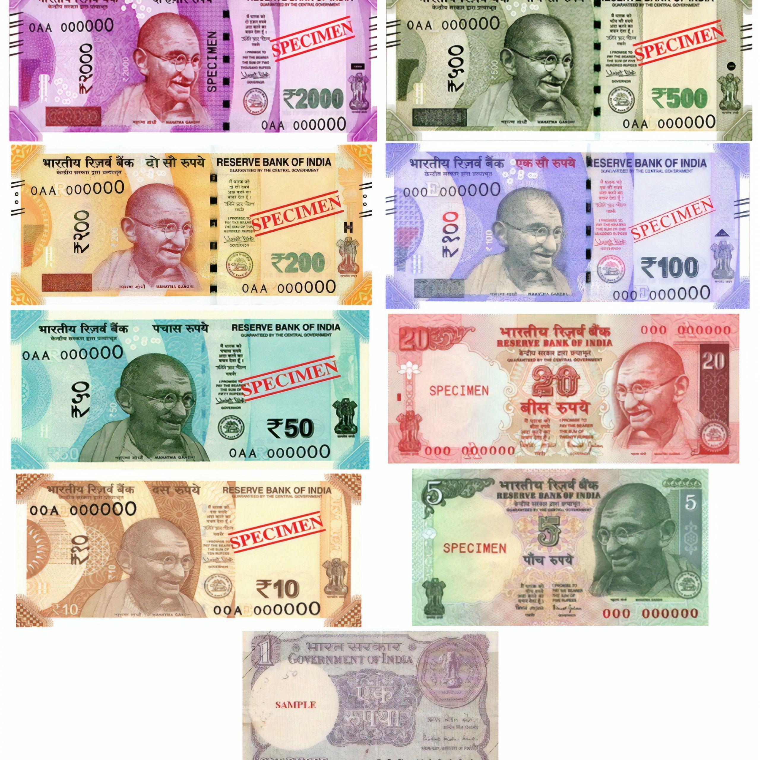 Indian Rupee In