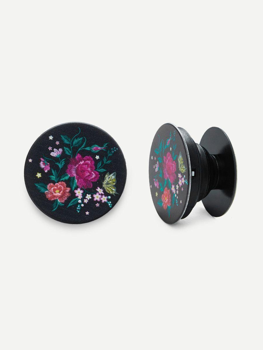 Floral phone popsocket sheinsheinside floral