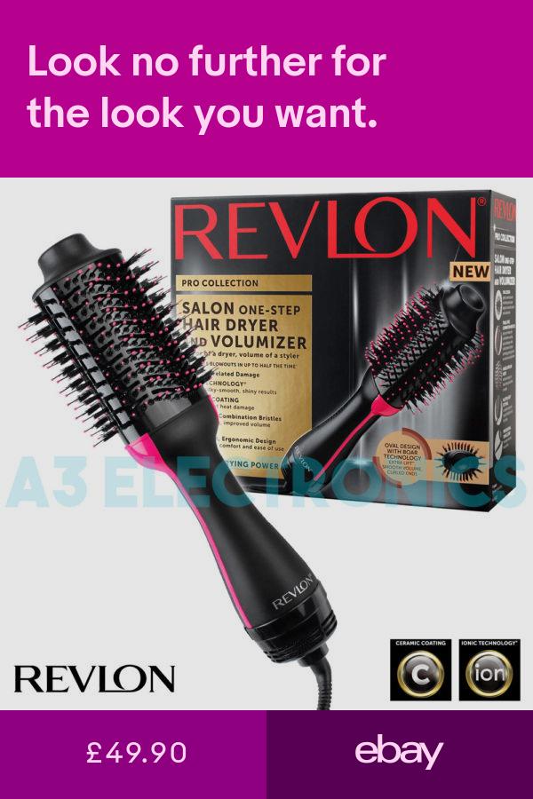 Revlon Hair Dryers Health Beauty Ebay Lightweight Hair Dryer Revlon Hair Dryer Styling Brush
