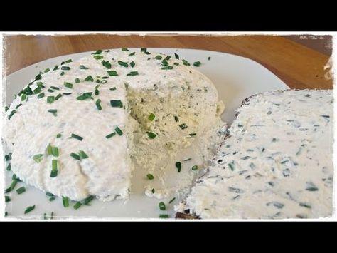 BRESSO - FRISCHKÄSE ganz einfach selber machen | Kräuterfrischkäse | Brotaufstrich