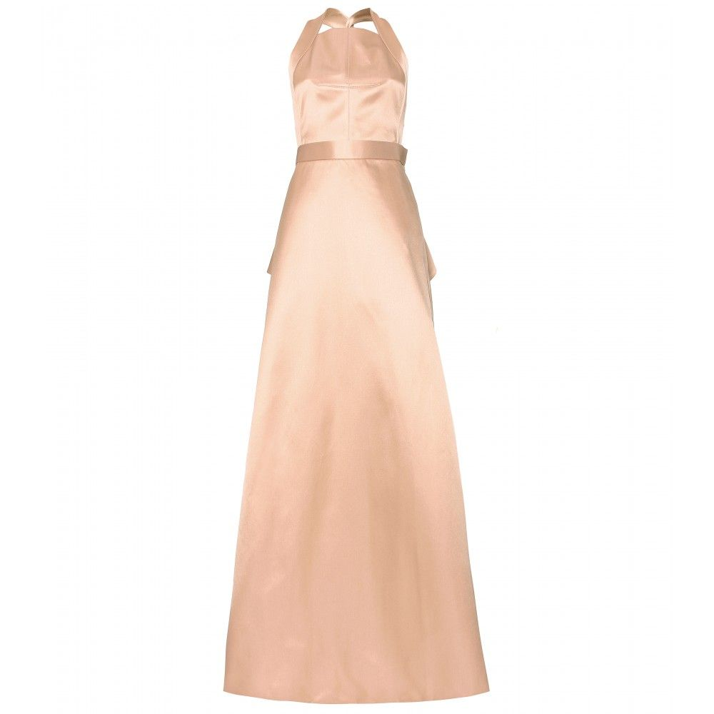 Jason wu duchessesatin gown dresses pinterest satin gown