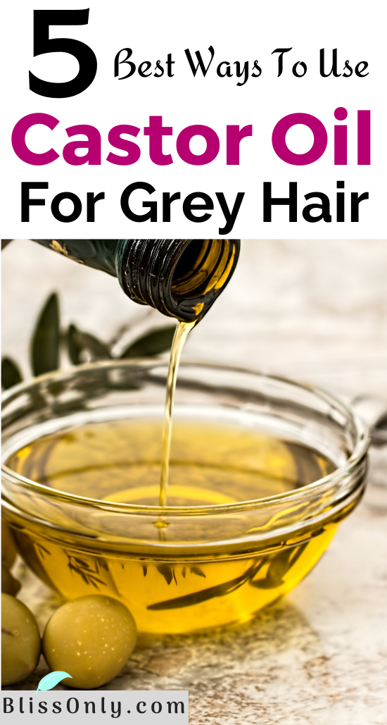 5 Best Ways To Use Castor Oil For Grey Hair