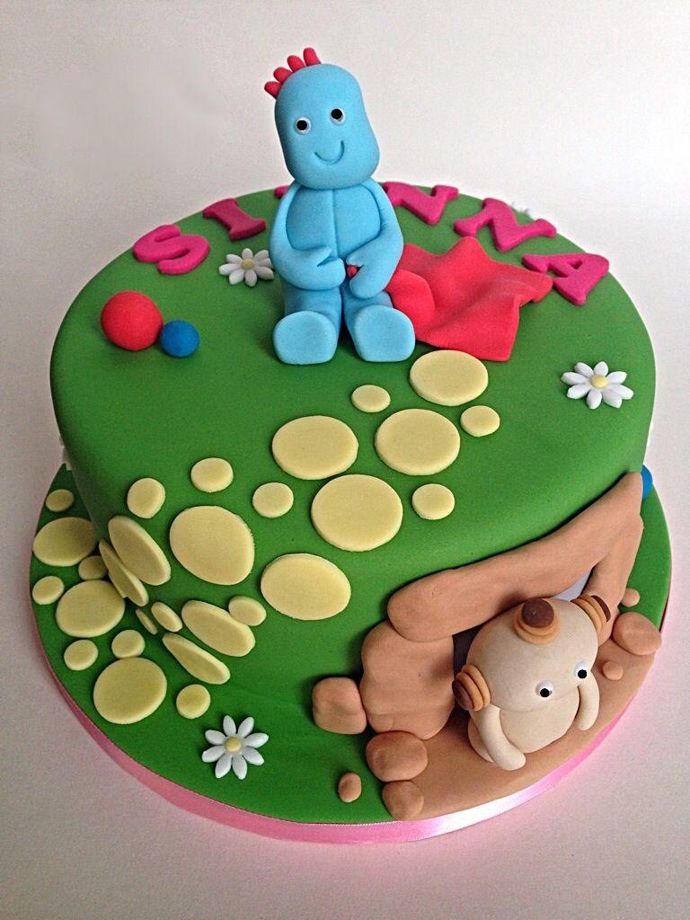 In the Night Garden Cake | cakes | Pinterest | Night garden, Garden ...