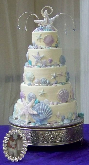 ocean themed wedding cakes indian weddings inspirations theme cake repinned 17967