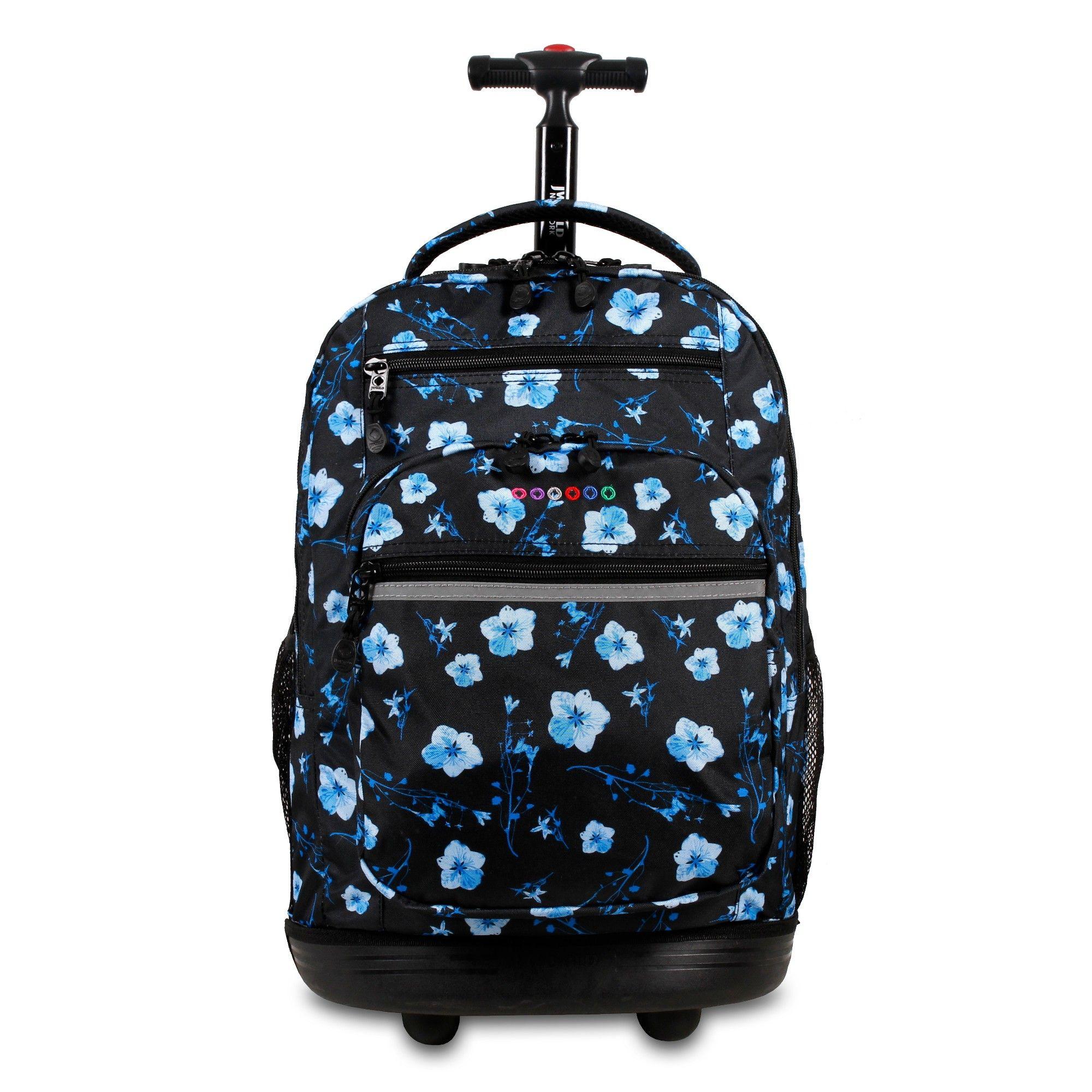 54c8bbf7a5b4 J World 20 Sundance Laptop Rolling Backpack - Night Bloom