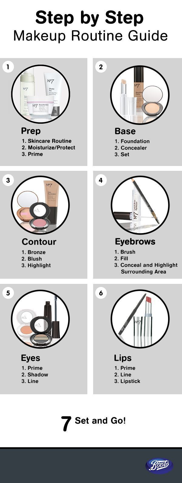 Photo of Follow these instructions to place an order for a smoother make-up.