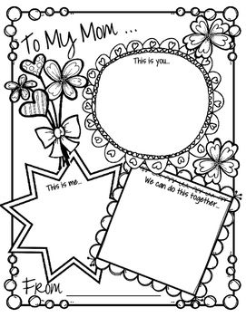 picture about Mothers Day Printable Activities named Moms Working day Game Card - Interactive Chatting and Composing