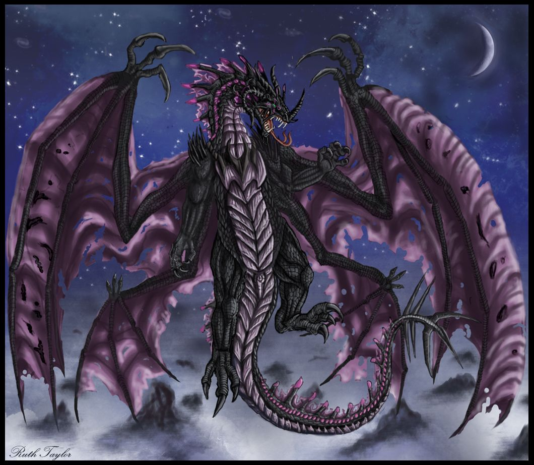 The Dragon of Doom by Ruth-Tay deviantart com on @DeviantArt | Dark