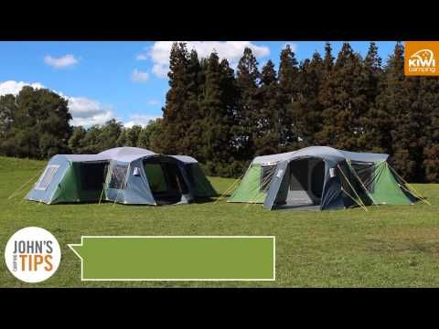Kiwi C&ing Takahe 15 u0026 10 Dome Tents - Key Features Video & Kiwi Camping Takahe 15 u0026 10 Dome Tents - Key Features Video | Dome ...