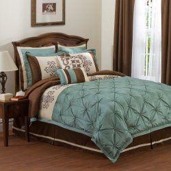 Bedroom Designs Master Bedroomturquoise And Brown Bedding Is