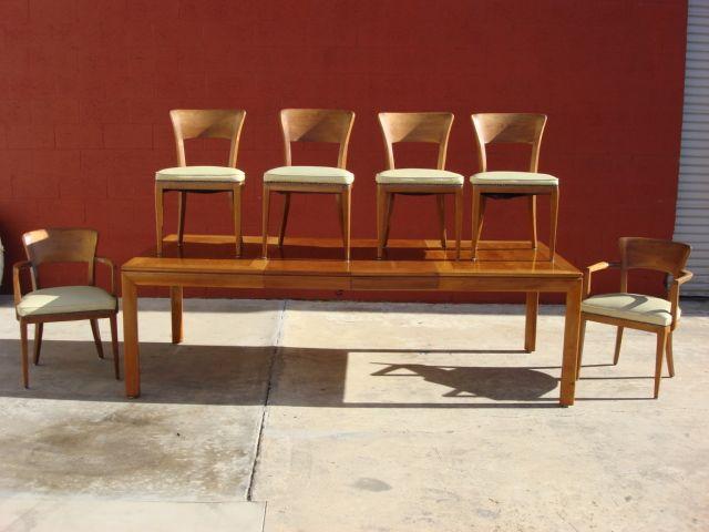 American Vintage Dining Room Set Solid Maple Original Post Modern Mid  Century Furniture