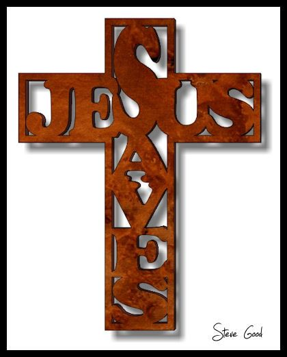 26bc0dac4961 free printable scroll saw patterns | Scrollsaw Workshop: Jesus Saves Cross Scroll  Saw Pattern.