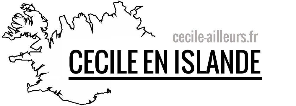 Cécile en Islande