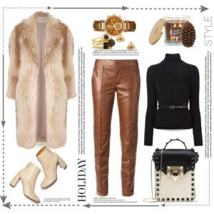 Holiday Style/Leather Pants...