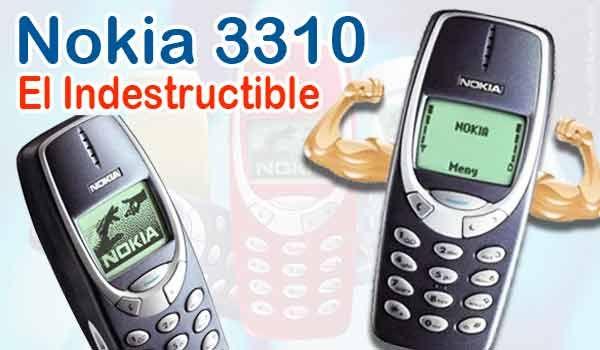 Nokia 3310 el conocido indestructible volverá al mercado! LEE EL POST COMPLETO AQUI: Nokia 3310 el conocido indestructible volverá al mercado!  En la década anterior fue lanzado el Nokia 3310 exactamente el primero de septiembre la compañía Nokia desarrollo un móvil que sin duda marco una referencia perdurable en el tiempo y es que hasta hoy es conocido como el indestructible estamos hablando de un teléfono celular que batió todos los récords en venta exactamente 126 millones de móviles…