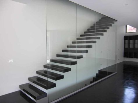Escalier droit design | מעקות | Pinterest