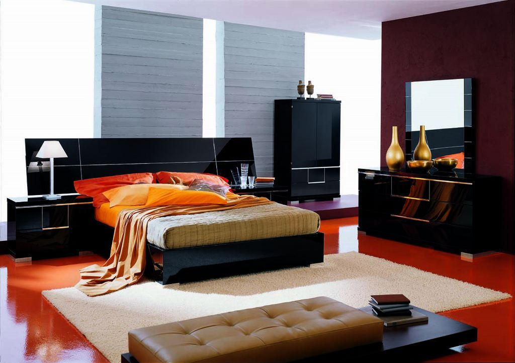modern bedroom designs%0A Bedroom black