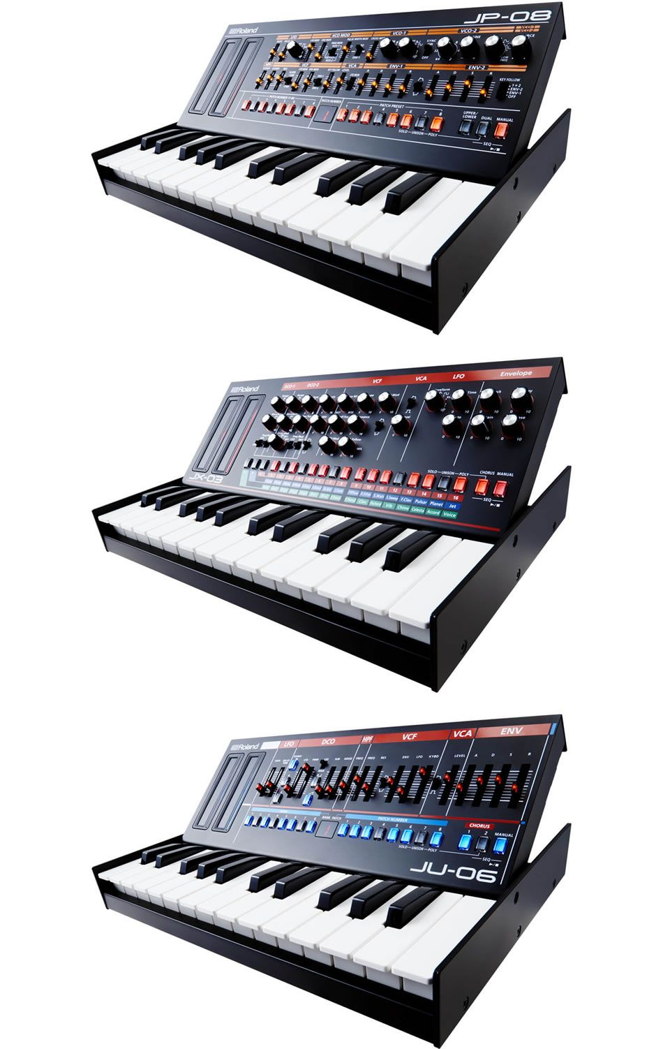 Roland Boutique Brings Acclaimed Synthesizers Down To Newly
