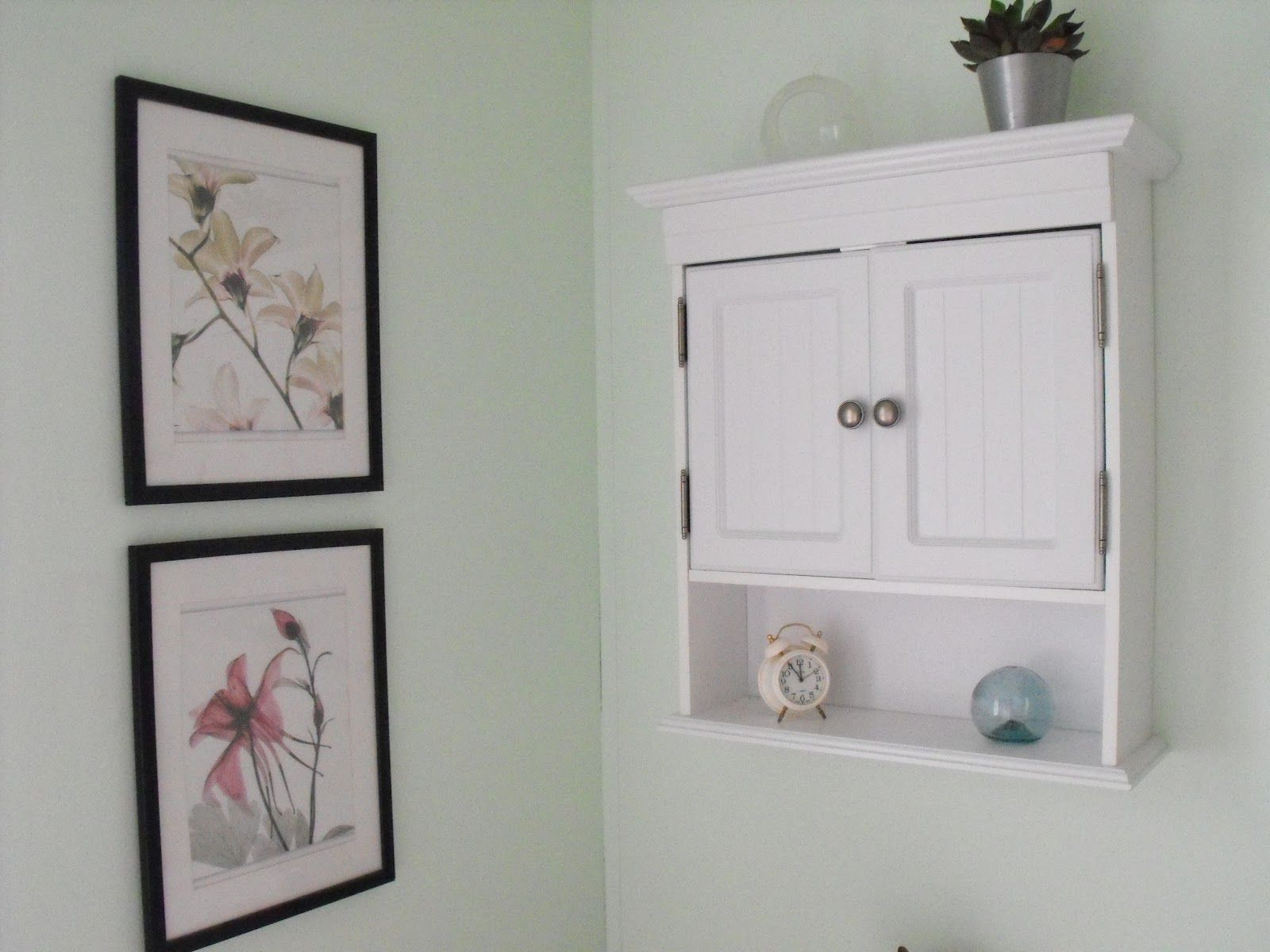 Menards over the toilet Bathroom Cabinets And Vanities | added ...