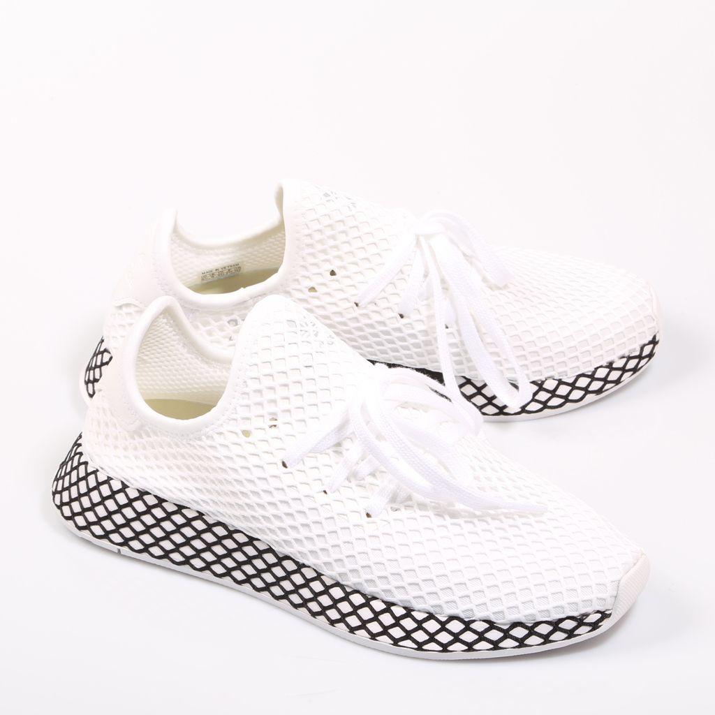 finest selection 41957 0345e Adidas Deerupt en color blanco y negro. Adidas Men s Deerupt in black and  white.