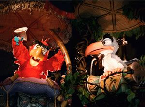 The History Of Disney S Audio Animatronics Walt Disney S Enchanted Tiki Room Enchanted Tiki Room Disney Enchanted