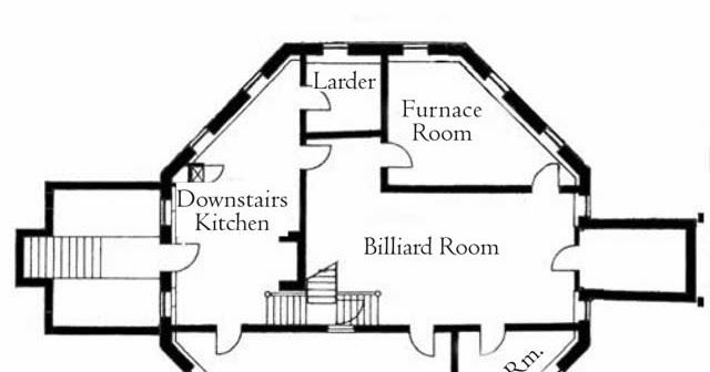 1930 S Mansion Floor Plan Is Quite Complicated But With The Good Floor Plan Will Give The Result Of An Authentic H Mansion Floor Plan Floor Plans Octagon House