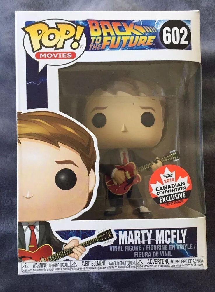 Funko POP! FAN EXPO 2018 Marty McFly Guitar Pop comes w
