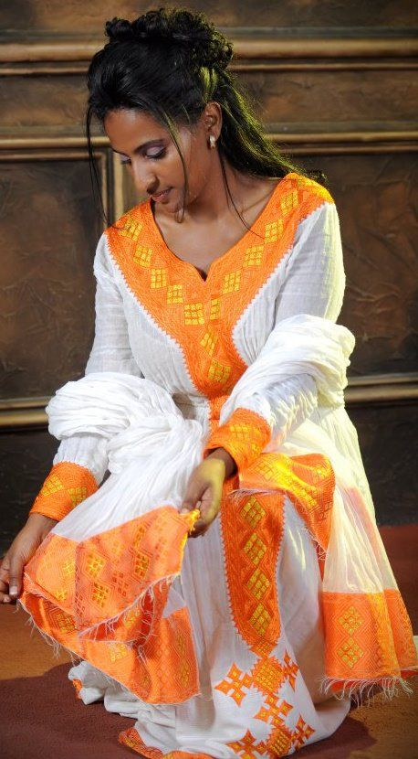 ethiopian dresses for sale | Ethiopian cultural clothes - habesha kemis for sale                                                                                                                                                     More