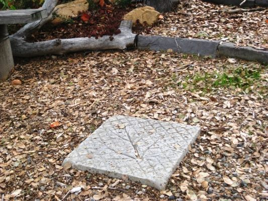 How to make an easy stepping stone   Flea Market Gardening