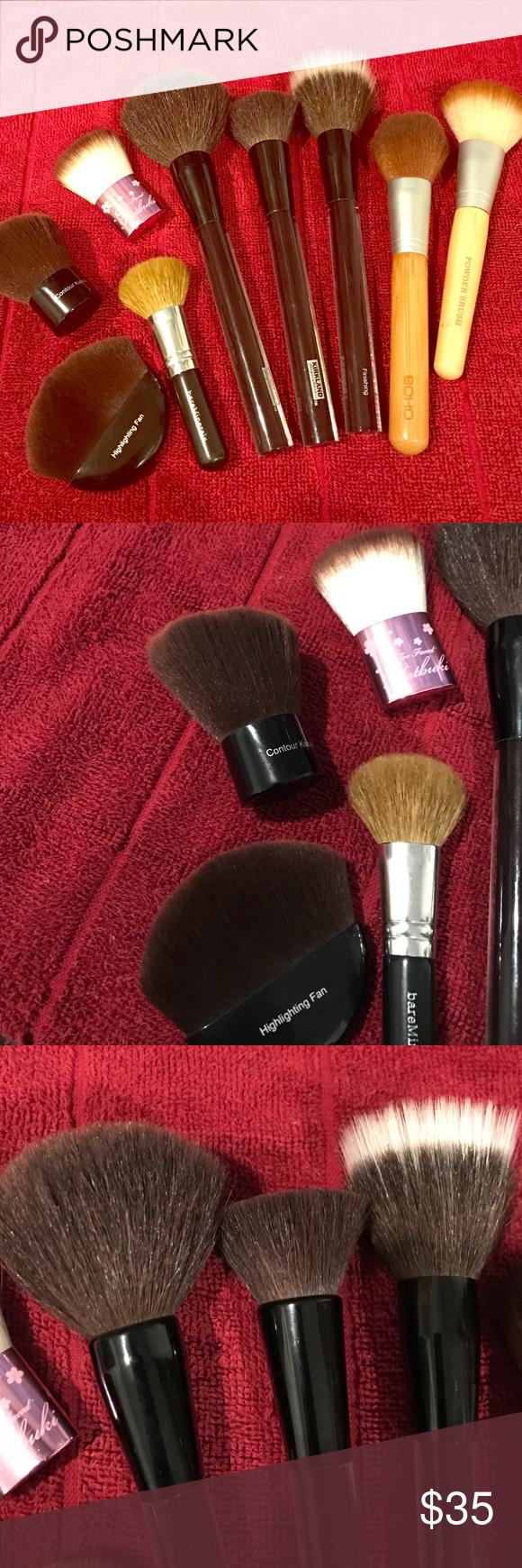 Mega Face Makeup Brush bundle AMAZING first set! Custom