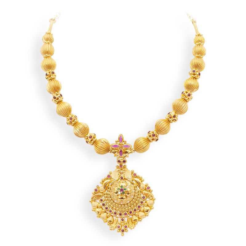 4e8d4eff48d49 Indian Jewellery and Clothing: Necklace sets from GRT jewellers ...