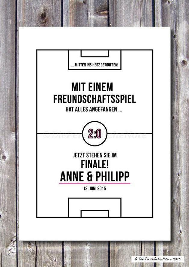 Gastgeschenke Druck Print Für Fussball Fans Hochzeit