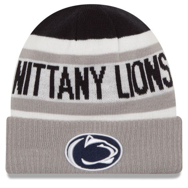 Penn State Nittany Lions New Era Youth Biggest Fan 2.0 Cuffed Knit Hat - Navy