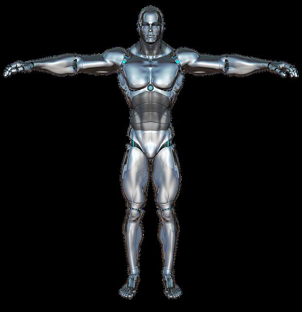 Free Illustration: Man, Front, Robot, Cyborg, Android - Free Image on Pixabay - 320270