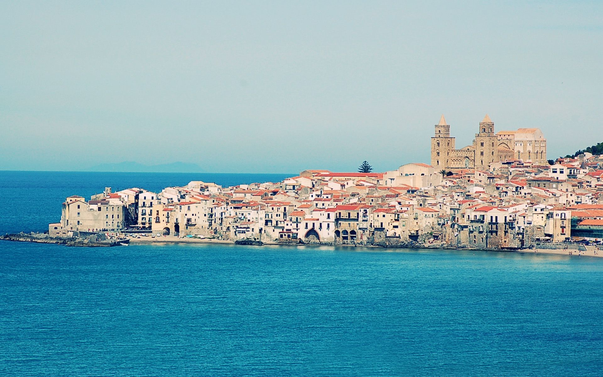 HD Wallpaper Cefalù Sicily Italy for 1920 x 1200