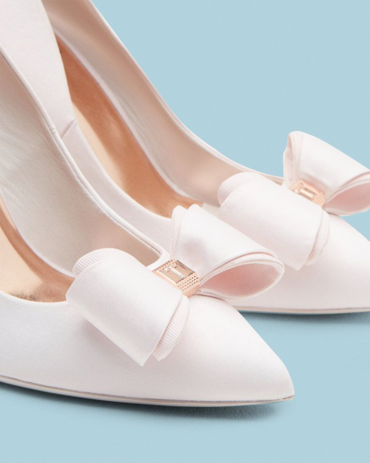 c7992f11b40 Bow detail courts - Baby Pink