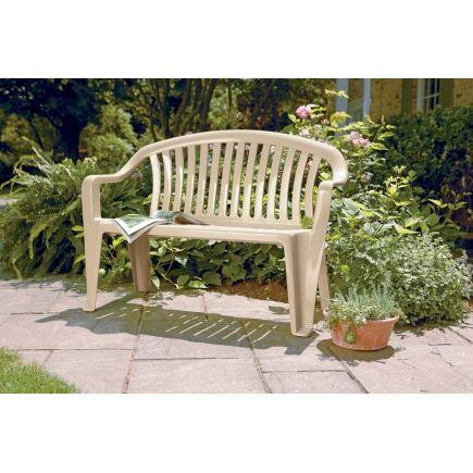 Incredible Adams Resin Bench 8365 23 3700 Park Benches Ace Frankydiablos Diy Chair Ideas Frankydiabloscom
