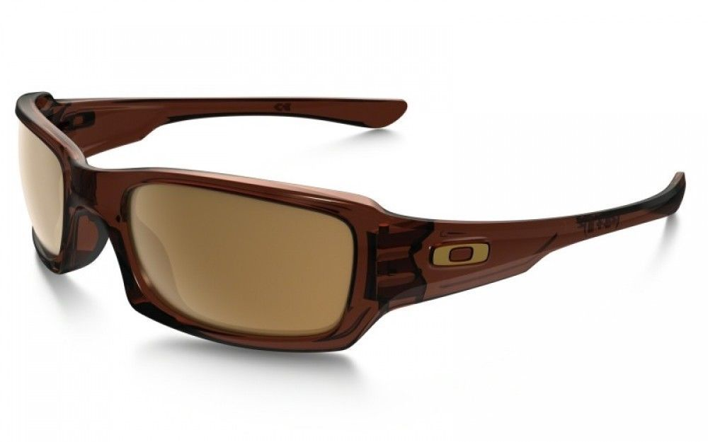 12c2c395c238d Oakley Fives Squared Sunglasses OO9238-07 Polished Rootbeer Dark Bronze  Unisex (eBay Link)
